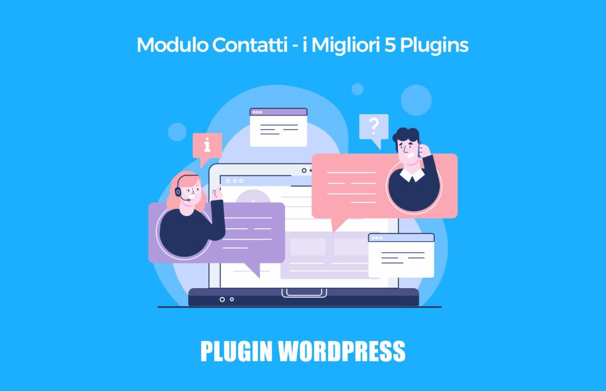 Modulo contatti Wordpress: i 5 migliori plugin