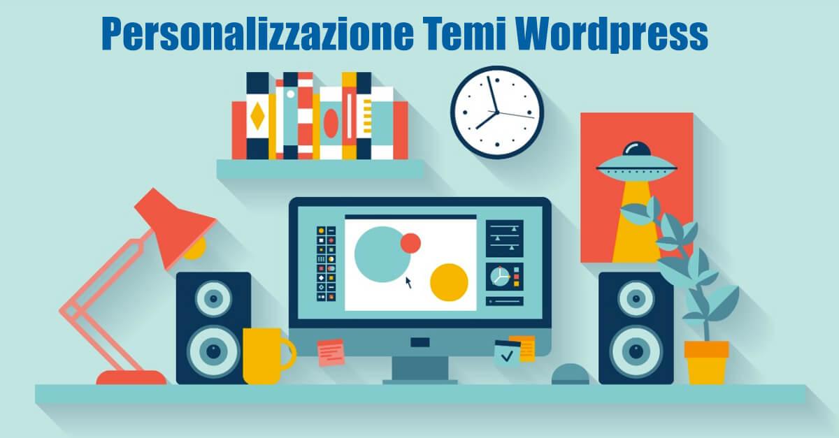 Servizio personalizzazione temi wordpress. Modifichiamo temi wordpress in base alle tue necessità.
